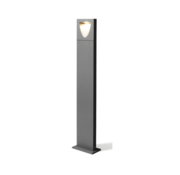 Wever & Ducre Smile 1.0 8Watt-3000K paalarmatuur 30 - 100cm donker grijs