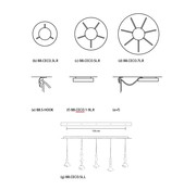 Jacco Maris Benben ceiling plates voor Benben hanglampen
