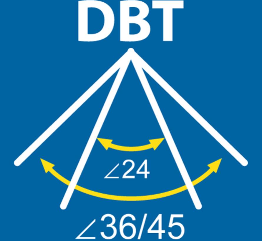 MM09753 PAR16-GU10 5,2-2800K-24/36 gr DBT dimbaar