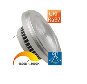 Megaman MM10018 AR111 G53 12W(=75W)24/45gr Dim to Warm CRI97