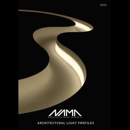 NAMA Trimless Plaster Led Recessed Profiles