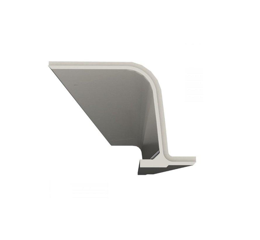 Skia 01 trimless indirect schijnend Led gips profiel 150cm