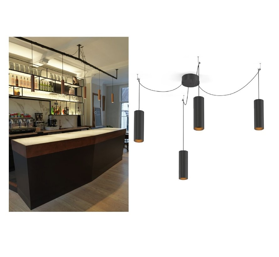 Ray Multi 2.0 - 3.0 LED hanglamp dimbaar