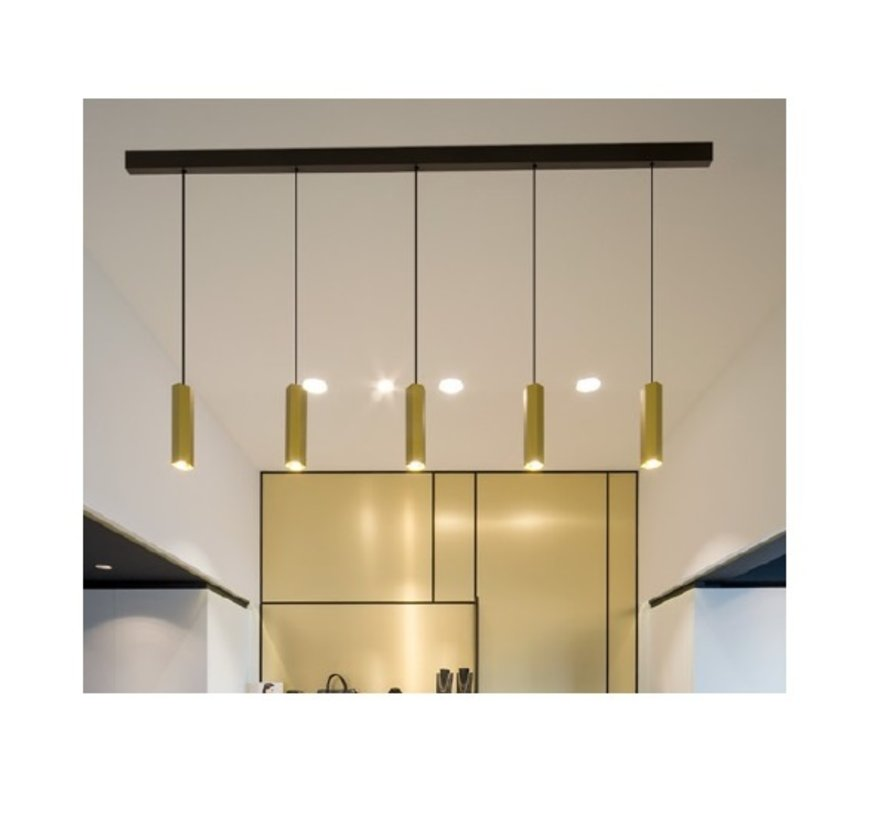 Baldachin multiple plafond base  voor 2 - 5 lampen