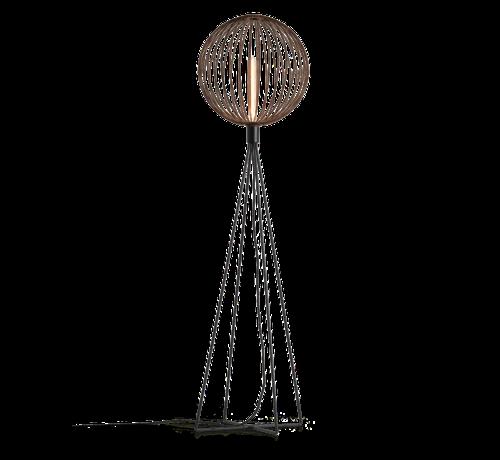Wever & Ducre Globe 1.0 vloerlamp 1670mm E-27