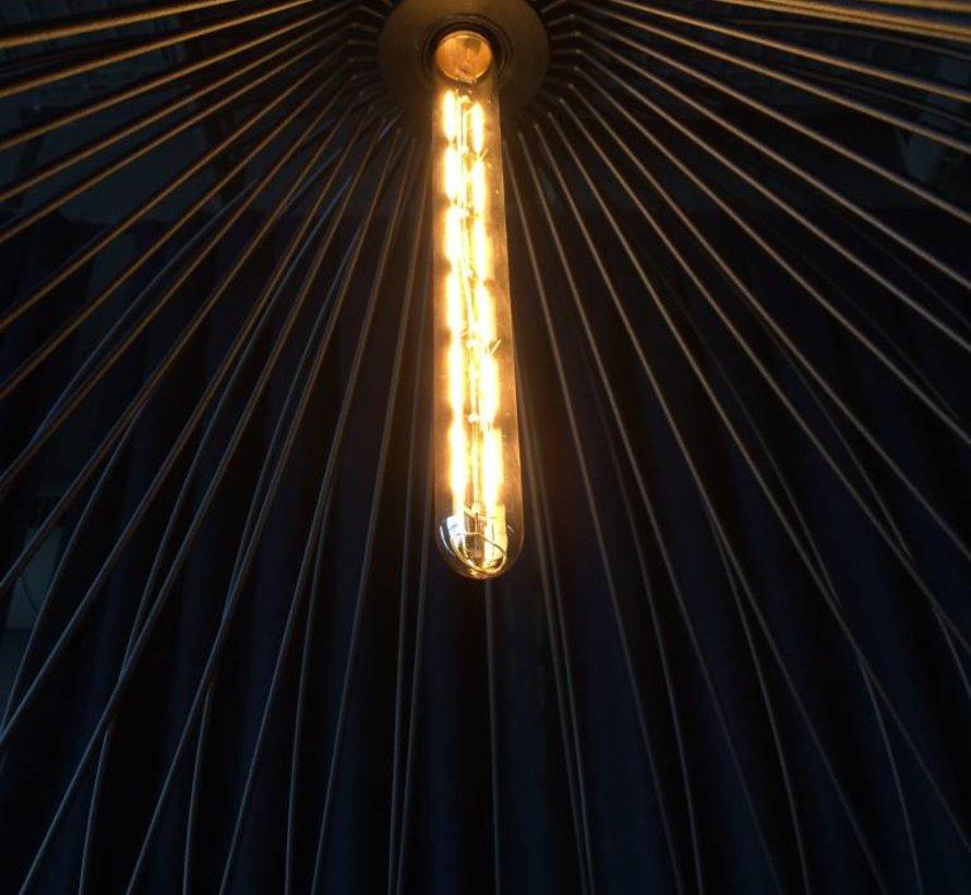 T30-300-2700 Led filament buislamp  8W-2700K dim E-27