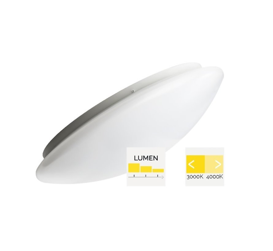 Renzo MM10274 wall-ceiling lamp 8-22W 3000-4000K
