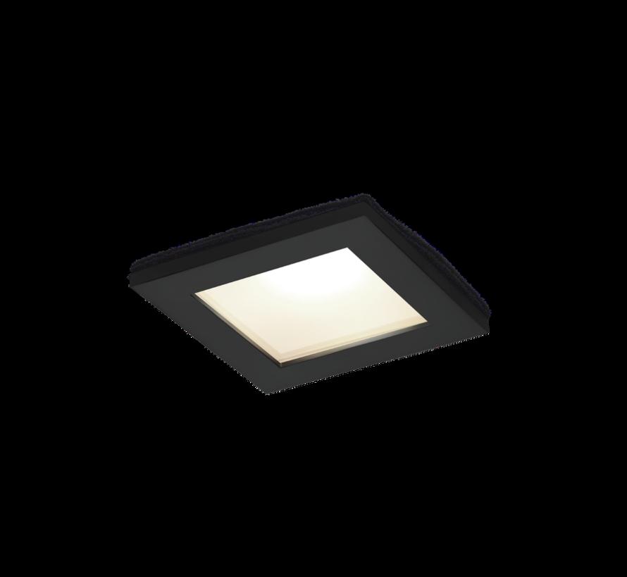 Luna Square 1.0 led inbouwspot IP44