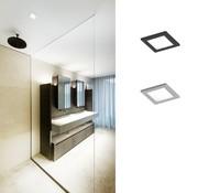 Wever-Ducre Luna Square IP44 1.0 LED 7/10W recessed spot IP44