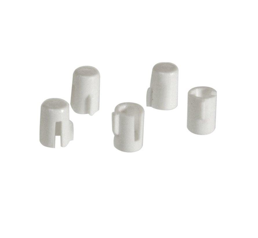 Adapter 4-6mm voor draai dimmerknop as