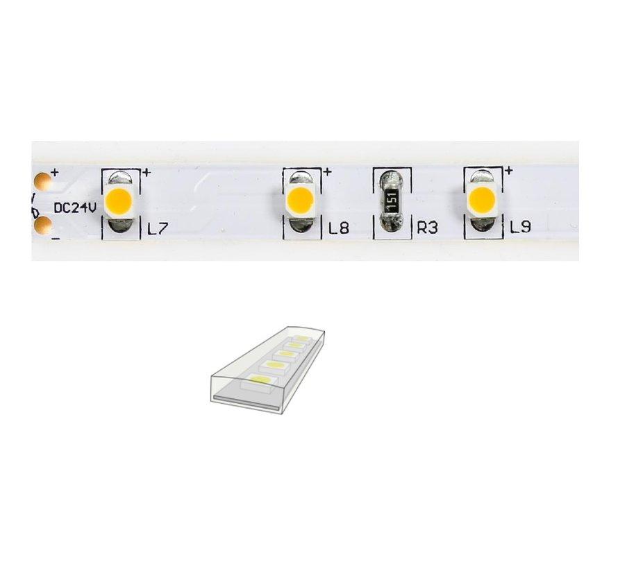 QX-nature IP67 ledstrip 24V-4,8Watt 60led/mtr 500cm