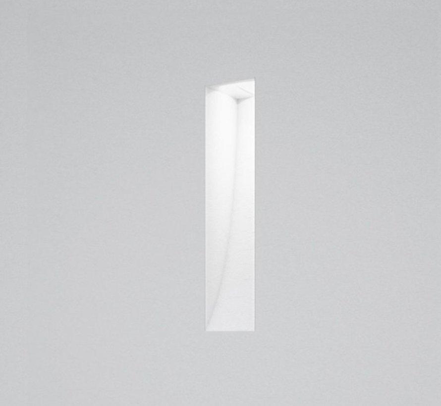Ray20 trimless plaster led wall recessed rectangular MR11-GU10 / G4