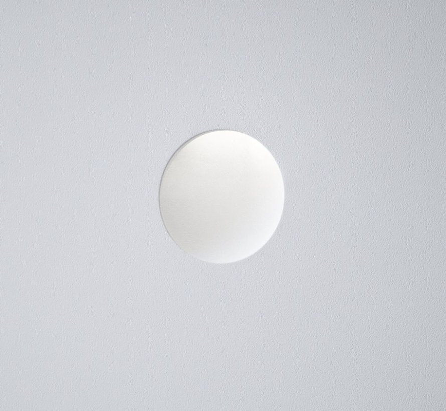 Luna10 trimless gips led wand inbouw rond Ø100mm MR11-GU10/G4