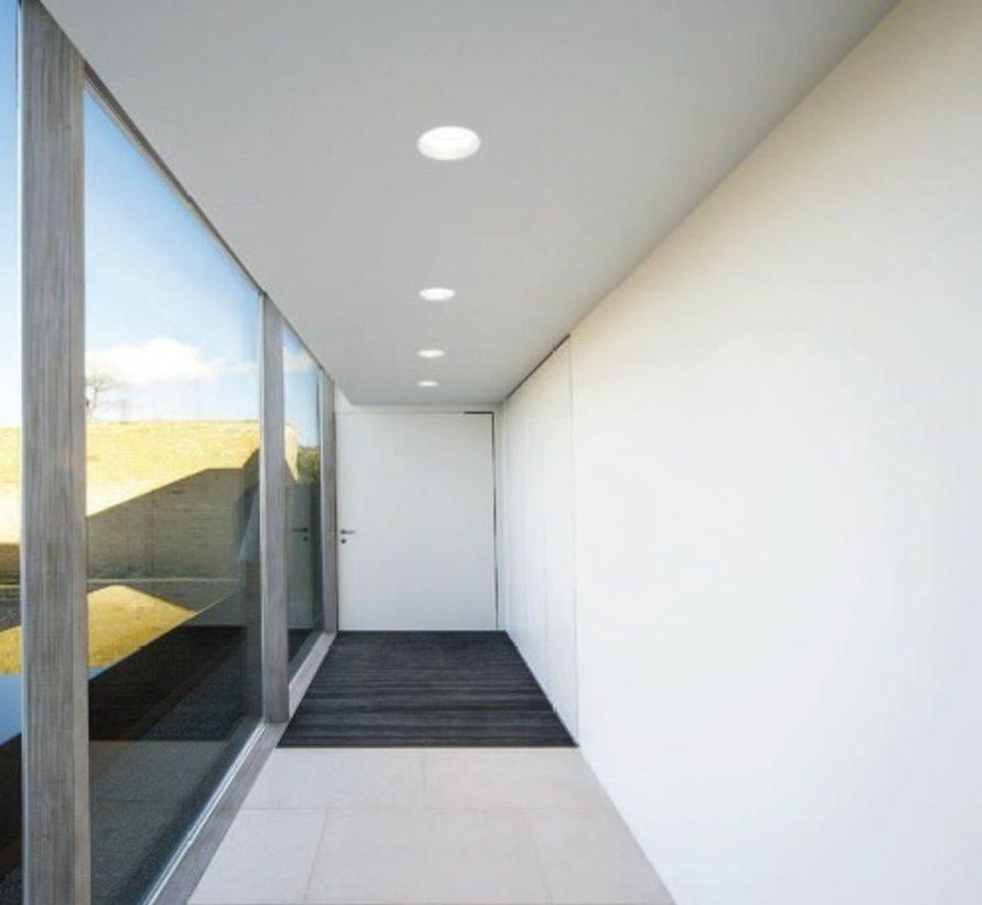 Dome QR111 richtbare Led inbouwspot G53/GU10 Ø200mm