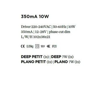 Wever-Ducre Driver 350mA-10Watt fase-cut dimbaar