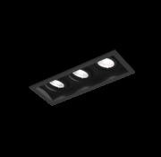 Wever-Ducre Plano Petit 3.0 Led richtbare inbouwspot 3 x 6W -350mA