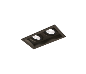 Wever-Ducre Plano Petit 2.0 Led 2 x 6W directional recessed spot 350mA dimmable