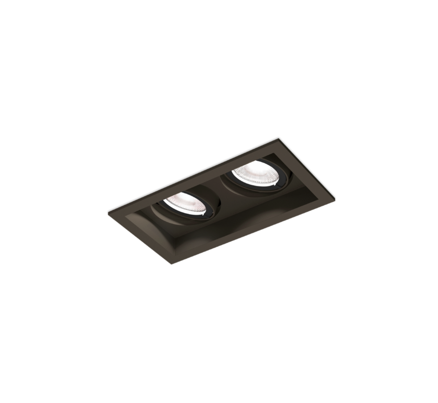 Plano Petit 2.0 Led 2 x 6W directional recessed spot 350mA dimmable