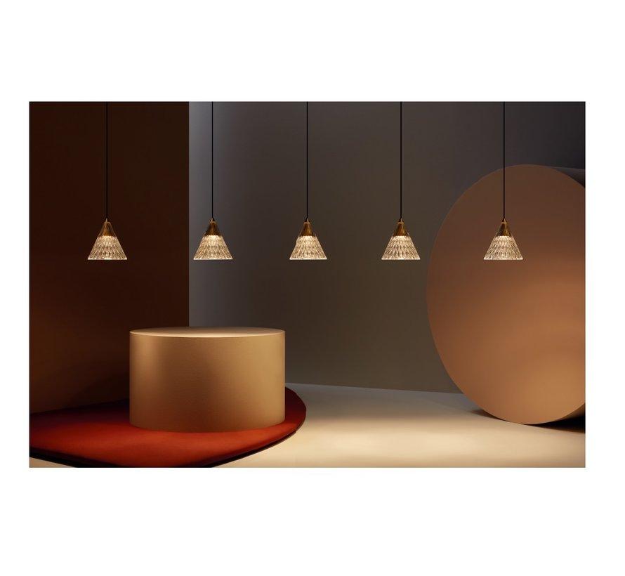Veneto led hanglamp 6 x 5Watt-2700K Dali dim