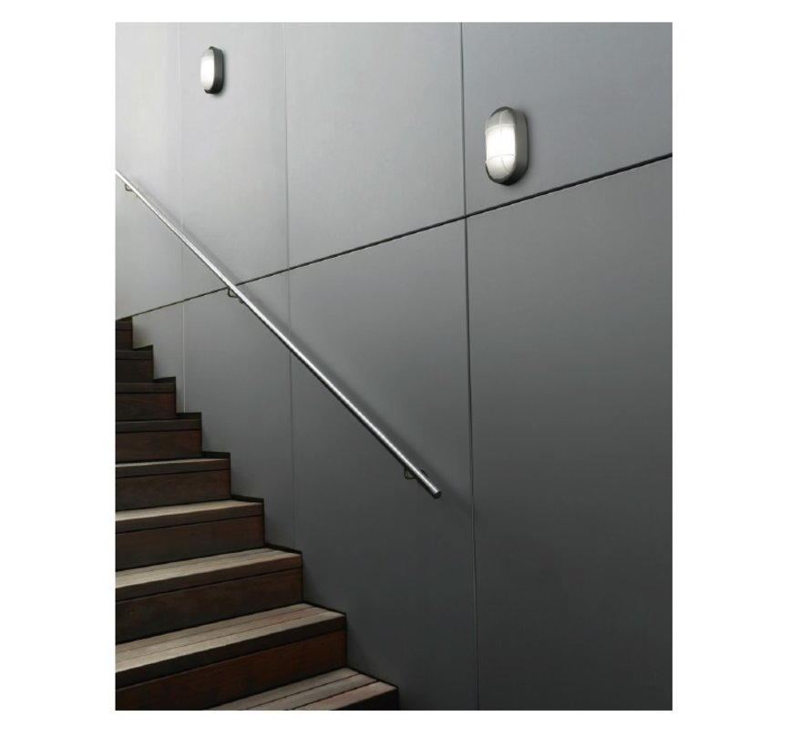 Turtled wand/plafond LED 7,5Watt-3000K IP65-IK10