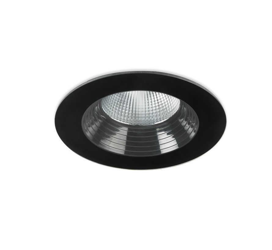 Dako Fix IP65 inbouw ledspot 6,4 - 18Watt in zwart