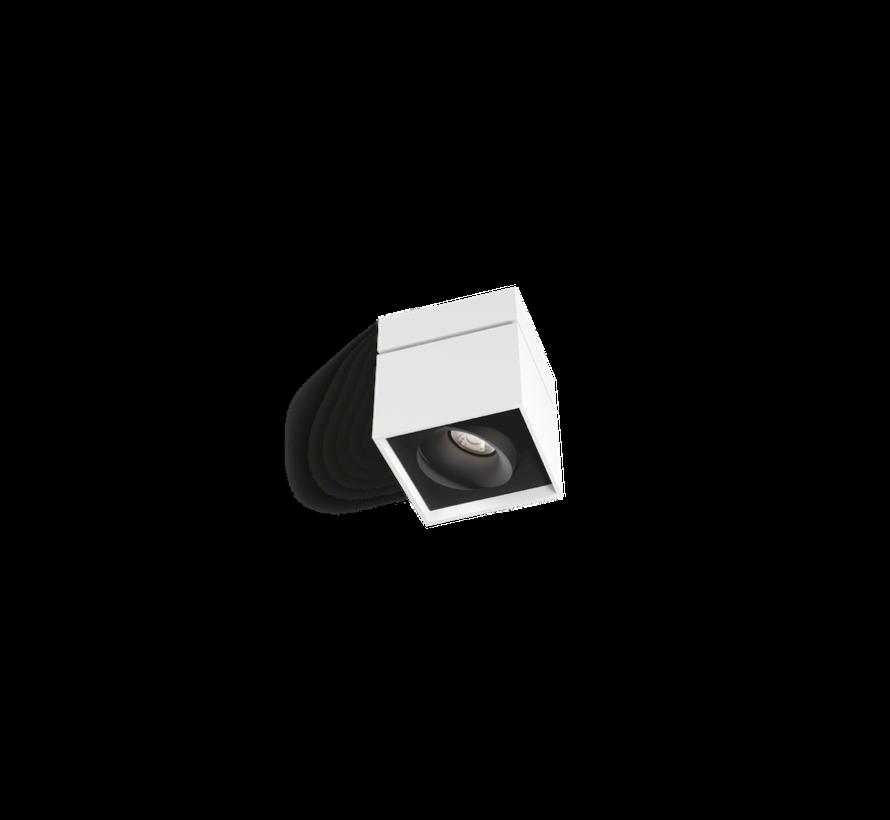 Sirro 1.0 LED richtbare opbouwspot 10Watt dimbaar in 4 kleuren