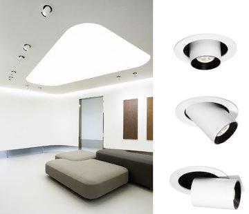 Wever-Ducre Spyder 1.0 LED orientable 7/10Watt recessed spot