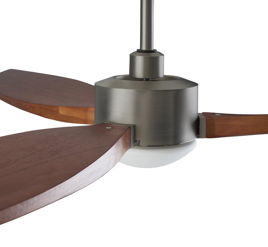 Embat Fan Ø1327mm met 19,8W -3000K Led verlichting en afstandsbediening