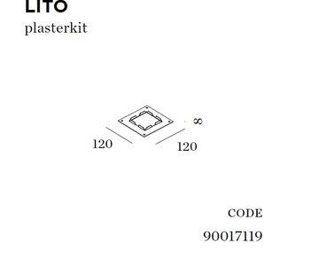 Wever-Ducre Plasterkit voor Lito (gips wand)