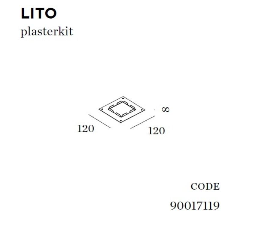 Plasterkit voor Lito (gips wand)