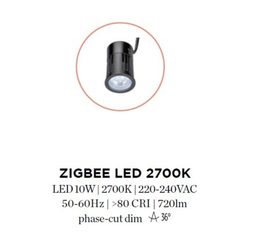 Zigbee LED module 10W-2700K 230Volt Ø50mm