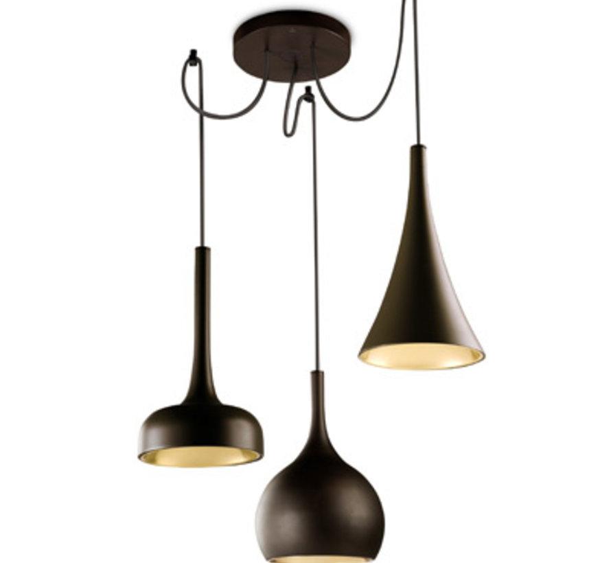 Sixties suspension lamp(s) 11Watt-3000K
