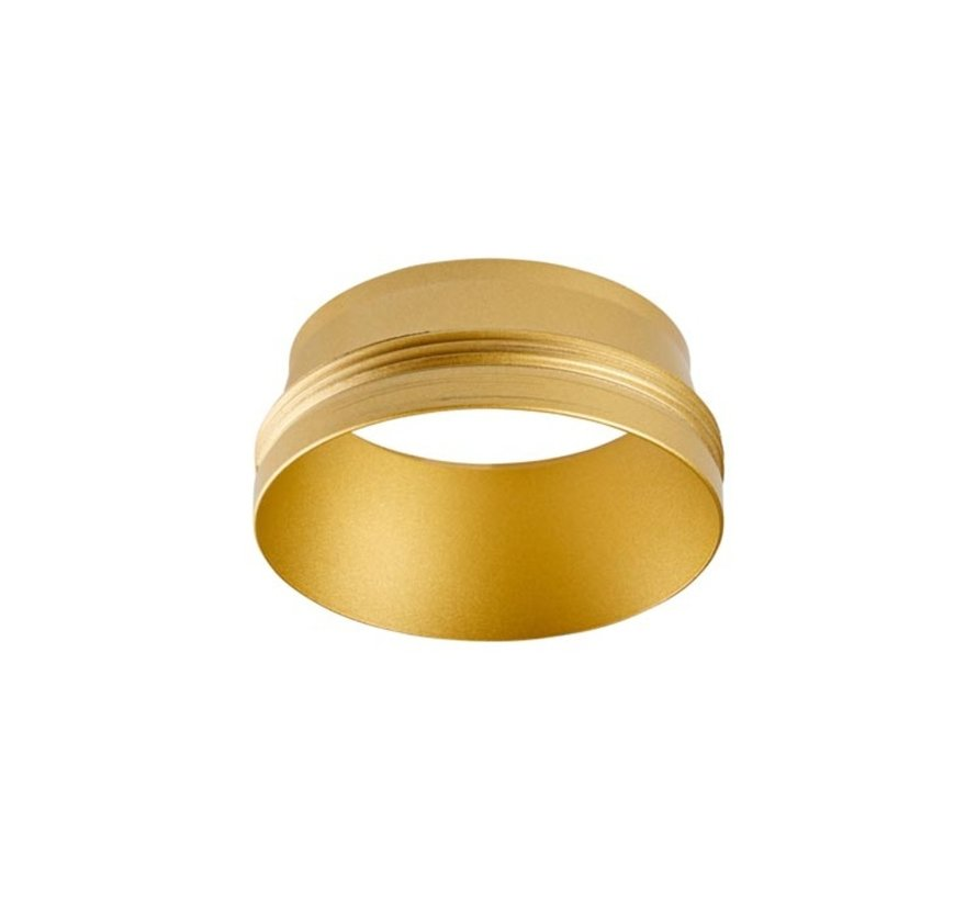Front ring Atom 52 in wit of goud