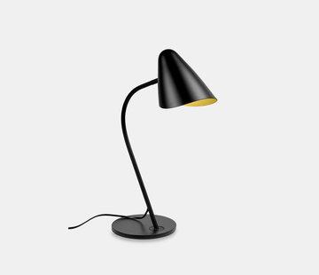 Leds-C4 Organic tafellamp zwart-goud E-27