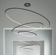 Grok Circular Chandelier 3-ring Ø600-900-1200mm