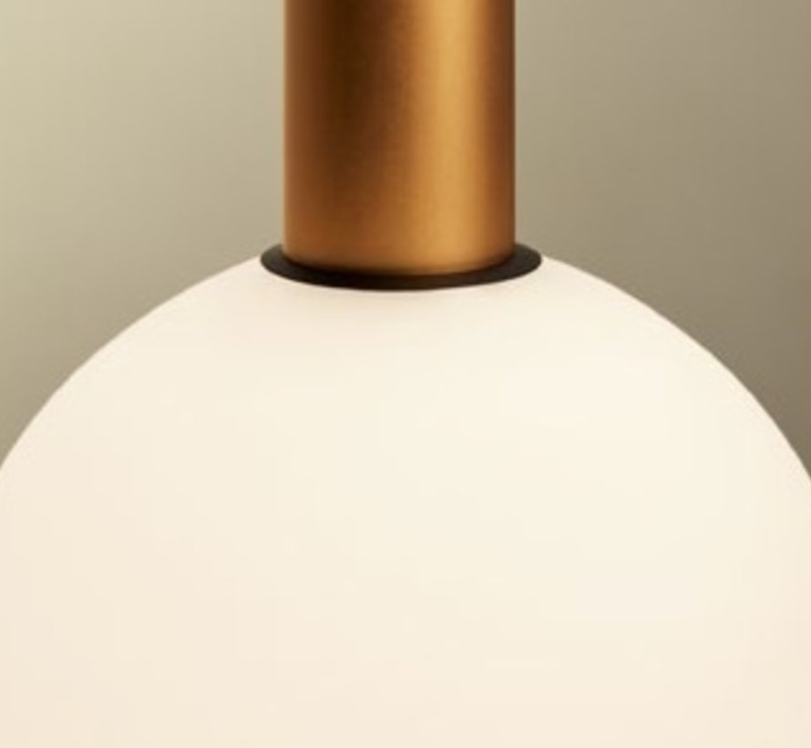 Opaal glas Ø100mm voor Candle pendant