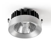 Modular M-LED Ø111mm Led inzetmodule 2700K flood zwart