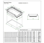 Modular Plasterkit voor Multiple Trimless 2 x AR111