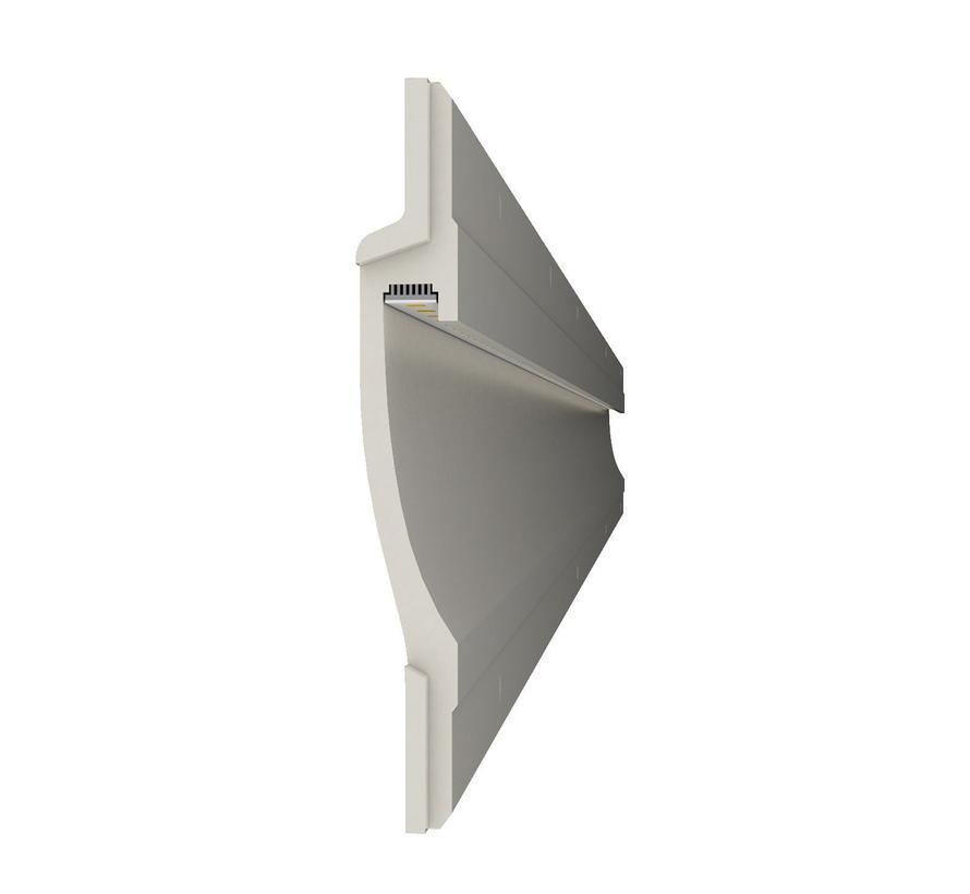 Zone 100 trimless indirect shining Led plaster profile 150cm