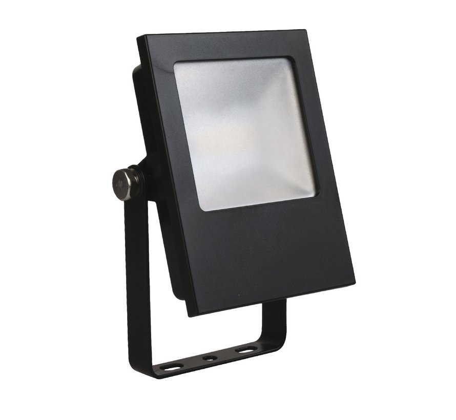 MM08101 facade spotlight 9Watt-3000K black IP65