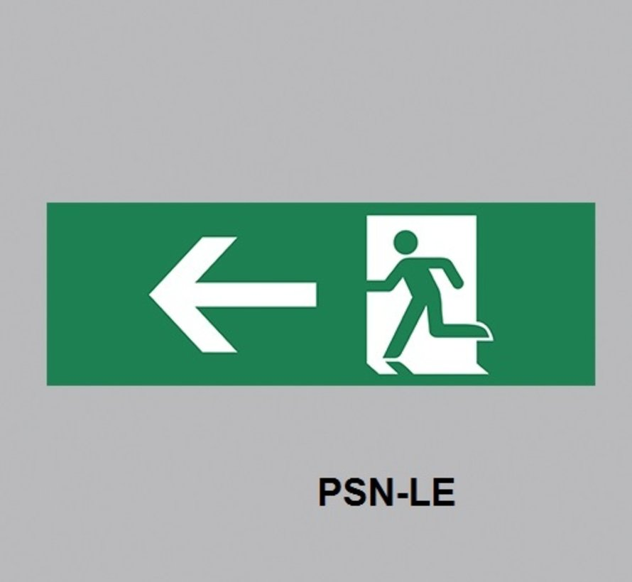 Excellence PSN pictogram sticker voor wandmontage EAL-250M