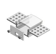 Compact Stucco trimless led profiel incl opalen afdekking