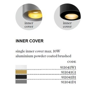 Wever-Ducre Inner Cover voor Ray 1.0