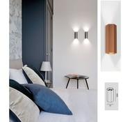 Wever-Ducre Hexo 2.0 PAR16 wall fixture up / down 2 x GU10 dimmable