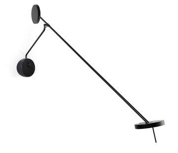 Grok Invisible verstelbaar Led wandlamp 9Watt  zwart