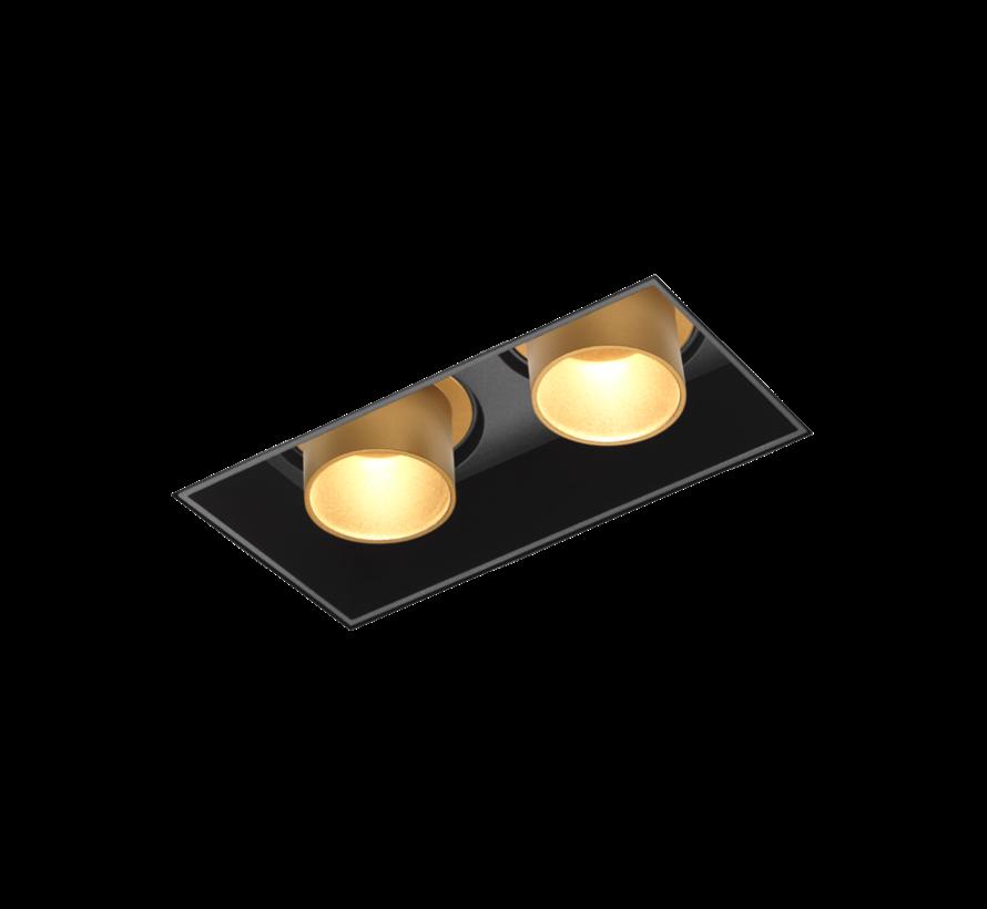 Sneak 2.0 LED trimless inbouwspot 2 x 7/10Watt