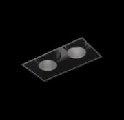 Wever-Ducre Sneak 2.0 LED trimless inbouwspot 2 x 7/10Watt