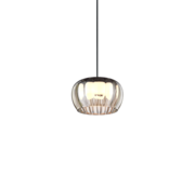 Wever-Ducre Wetro1.0 hand-blown glass Ø150mm LED hanging lamp dimmable