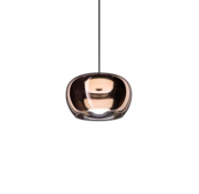 Wever-Ducre Wetro2.0 hand-blown glass Ø225mm LED hanging lamp dimmable