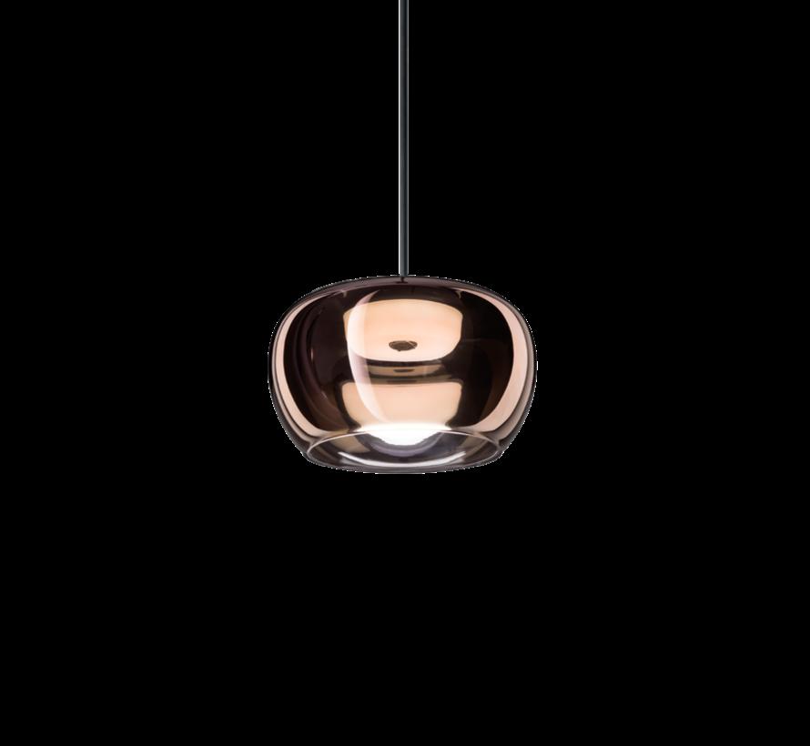 Wetro 2.0 handgeblazen glazen Ø225mm LED hanglamp in 5-kleuren dimbaar
